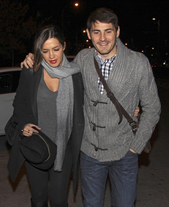 Iker Casillas y Sara Carbonero acuden a una de las últimas revisiones antes de ser padres