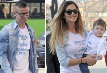 Guti y Romina Belluscio celebran el primer cumpleaños de su 'príncipe', Enzo