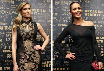 Judit Mascó, Fabiola Martínez y Malú, la belleza se va de fiesta en Madrid
