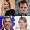 Obama, Johnny Depp, Beyoncé, Kim Kadashian.. ¿en qué trabajaron antes de ser famosos?