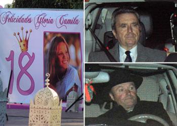 Ortega Cano no se pierde la fiesta de cumpleaños de su hija, Gloria