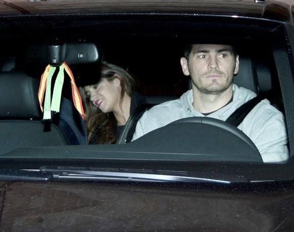 Iker Casillas y Sara Carbonero retoman su vida social tras el nacimiento de Martín