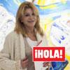 Exclusiva en ¡HOLA!, la baronesa Thyssen visitó la exposición de Blanca Cuesta