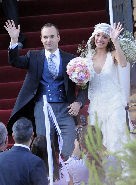 Andrés Iniesta y Anna Ortiz pierden el bebé que esperaban