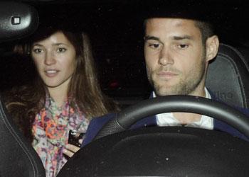Malena Costa acompaña a Mario Suárez en un día 'muy especial' para el futbolista