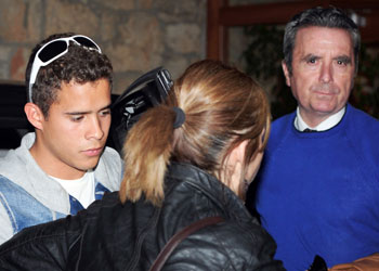 José Ortega Cano lleva a su hijo a un centro de rehabilitación: 'Quiere llevar una vida ordenada'