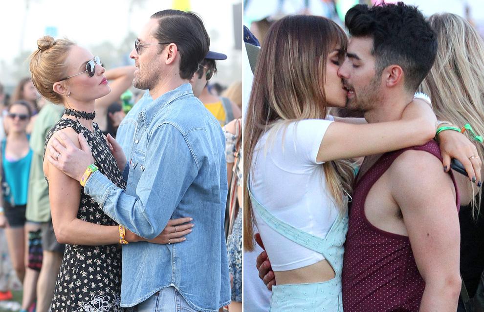 Kate Bosworth y Michael Polish, Joe Jonas y su novia, Hilary Duff y su ex... el amor está en el aire en el Festival de Coachella