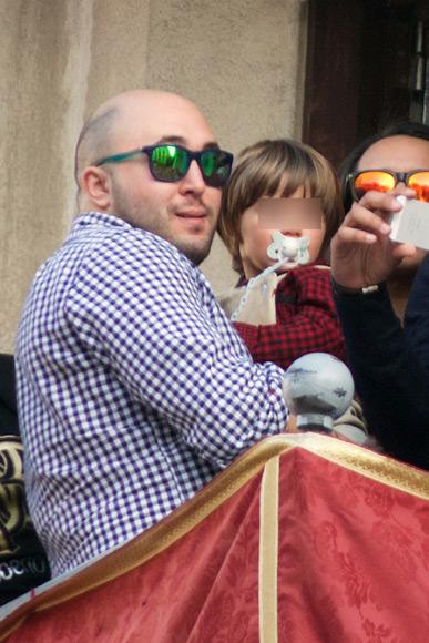 Francisco, el hijo de Kiko Rivera y Jessica Bueno, devoto de la Semana Santa sevillana
