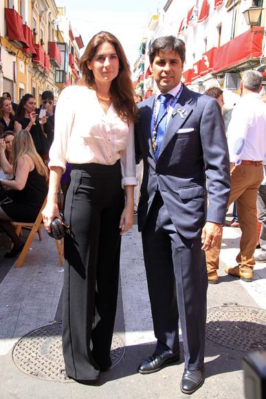 Francisco Rivera y Lourdes Montes, un matrimonio feliz y devoto de la Semana Santa sevillana