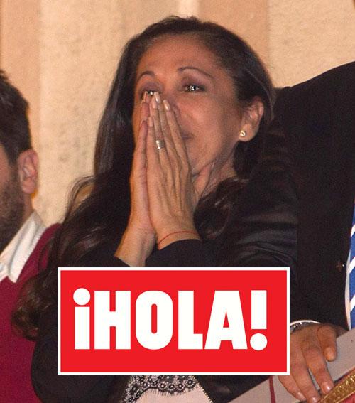 Las lágrimas de emoción de Isabel Pantoja junto a sus hijos en Sevilla, esta semana en ¡HOLA!