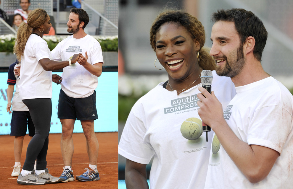 ¿Cuánto mide Serena Williams? - Altura - Real height Iker5-a