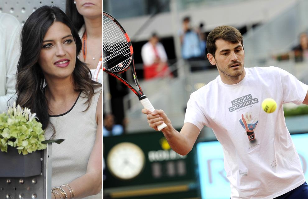 Sara Carbonero, orgullosa de Iker Casillas en su día más solidario