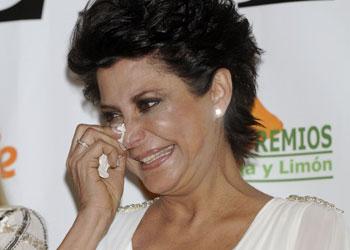 María Pineda, entre lágrimas en los premios Naranja y Limón: 'Ha sido de los días más emocionantes de mi vida'