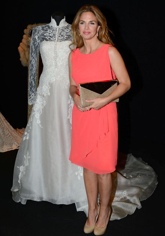 Genoveva Casanova se reencuentra con su vestido de novia: 'No sé si volvería a casarme'