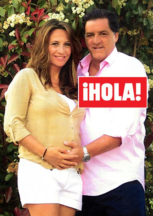 Exclusiva en ¡HOLA! José Campos y Marián Sousa: '¡Va a ser una niña!'