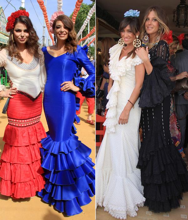 Flamenco y 'pescaíto frito', Raquel Revuelta, Marisa Jara y Víctor Puerto, al calor de la Feria de Abril