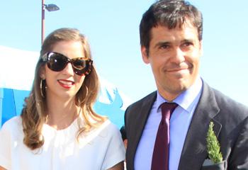 Luis Alfonso de Borbón y Margarita Vargas disfrutan del toreo de Enrique Ponce en la Feria de Abril