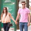 Aitor Ocio y su novia Covi Riva se 'escapan' a Madrid para almorzar entre amigos