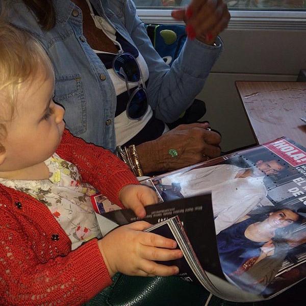 Acaba de cumplir un añito... ¿quién es la lectora más joven de la revista ¡HOLA!?