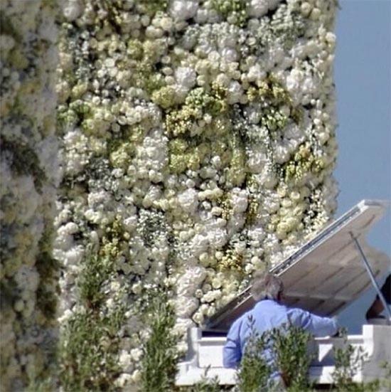 Lujo y extravagancia a la italiana en la boda de Kim Kardashian y Kanye West