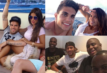 Vuelta al hogar y destinos en altar mar, los futbolistas comienzan las vacaciones pendientes del Mundial