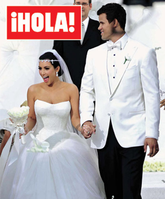 La boda de Kanye West y Kim Kardashian - Vogue 53