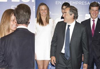 Cayetano Martínez de Irujo y Melani Costa... cuando las sonrisas lo dicen todo