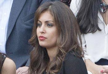 Hiba Abouk disfruta de su primera tarde de toros en Las Ventas
