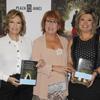 Las reinas de la televisión, María Teresa Campos y Ana Rosa Quintana, se rinden ante los encantos literarios de Rosa Villacastín