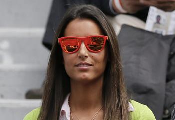 Ana Boyer, testigo del 'mejor partido' de Fernando Verdasco en Roland Garros
