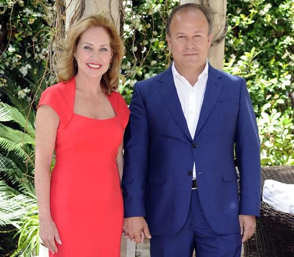 Ana Rodríguez, feliz con Ernesto Manrique: 'No hubiera esperado a mi edad encontrar a una persona tan especial'