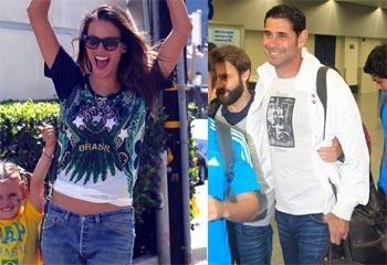 Leonardo DiCaprio, Jennifer López, Fernando Hierro... Brasil es una fiesta, ¡todos al Mundial!