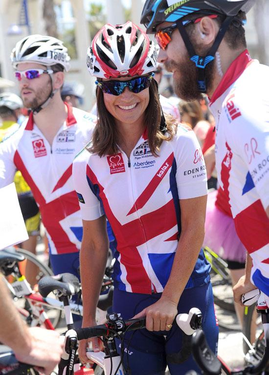¡A pedalear! Pippa y James Middleton cruzan América en bicicleta por una buena causa