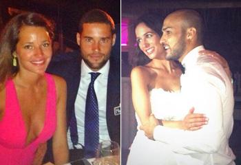 ¿Para cuándo la suya? Malena Costa y Mario Suárez, de boda en boda