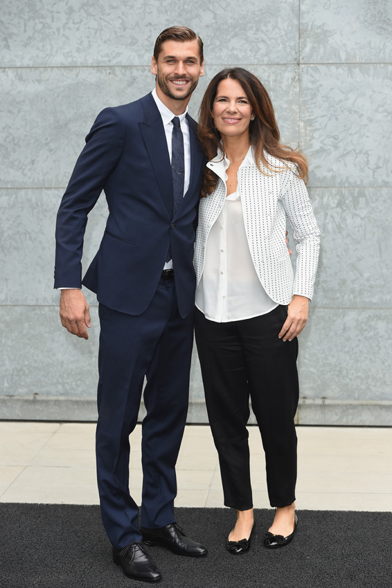 Fernando Llorente with cute, friendly, Girlfriend Maria Lorente
