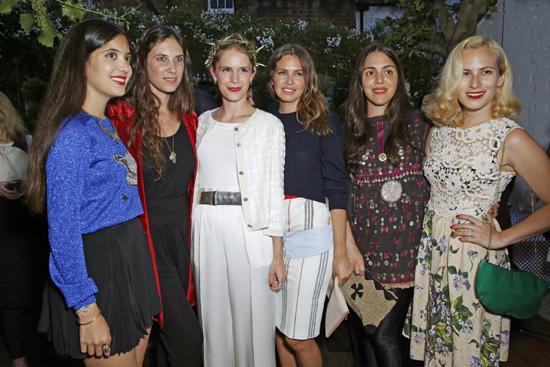 La princesa Beatriz de York se une a la pandilla de Tatiana Santo Domingo