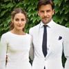 Primeras imágenes de la blanca boda civil de Olivia Palermo y Johannes Huebl