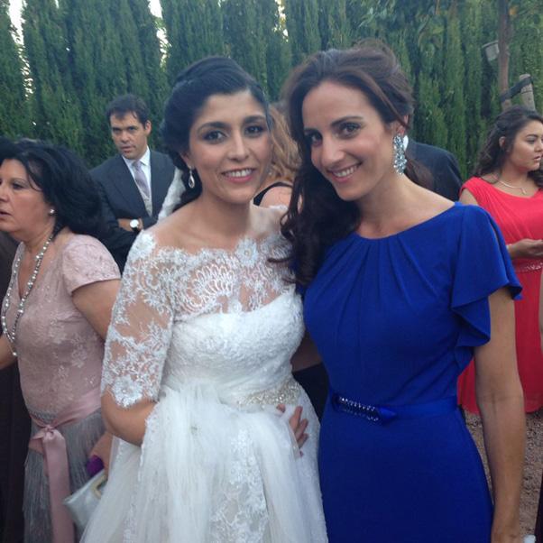 Las imágenes no vistas de la emotiva boda de Verónica Cuevas y Manuel Pino