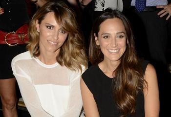 Tamara Falcó, Laura Vecino, Malena Costa... 'front row' de lujo en la pasarela barcelonesa