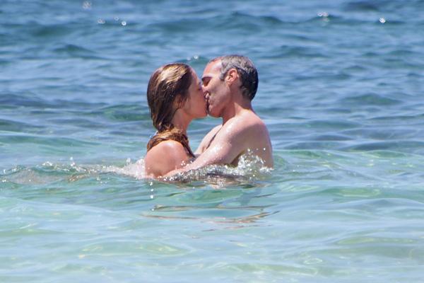 Martina Klein y Alex Corretja, cuatro años juntos y tan enamorados como el primer día