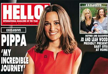 Exclusiva en HELLO!: Pippa Middleton nos cuenta su increíble aventura en Estados Unidos