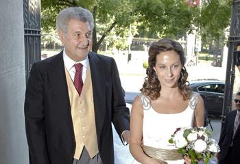 El Gobierno se da cita en la boda de la hija de Jesús Posada