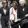 Las infantas Elena y Pilar y Simoneta Gómez-Acebo asisten al funeral de Crista de Baviera