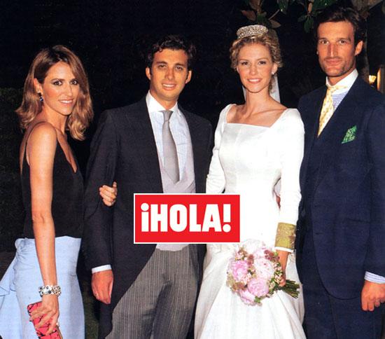 En ¡HOLA!: Elegante, andaluza y taurina boda de Rafael Peralta y Alejandra Peña