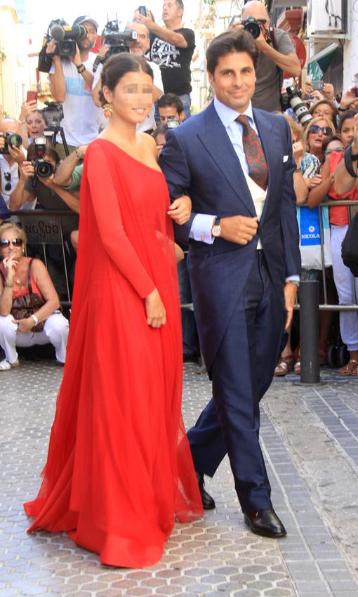 La boda religiosa de Francisco Rivera y Lourdes Montes Novio--a