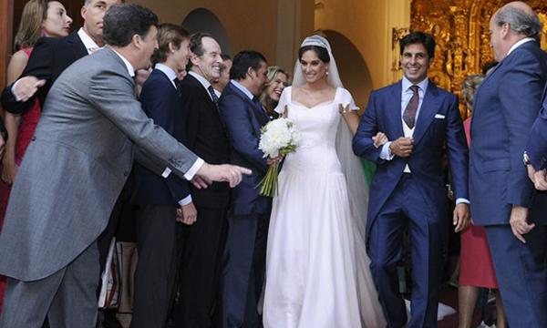 La boda religiosa de Francisco Rivera y Lourdes Montes Salida--z