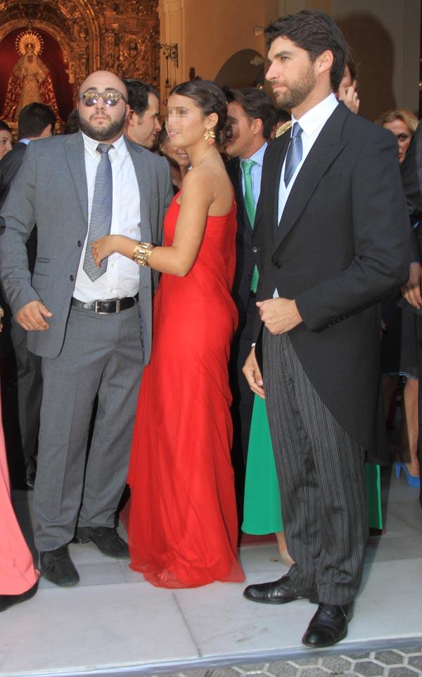 La boda religiosa de Francisco Rivera y Lourdes Montes Cayetano-kiko-cayetana--z