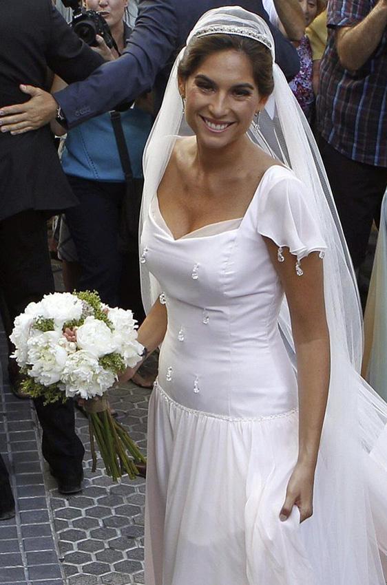 fran rivera vestido de novio