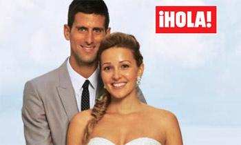 Exclusiva mundial en ¡HOLA!: Novak Djokovic se casa con Jelena Ristic