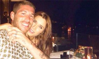 Sergio Ramos y Pilar Rubio disfrutan de una romántica velada a pocos días de irse de boda